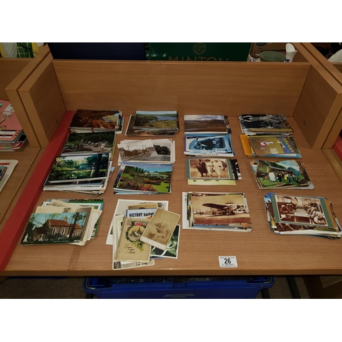 26 - A quantity of postcards...
