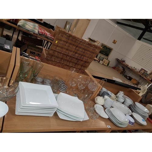 48 - Large quantity of glass and china etc....