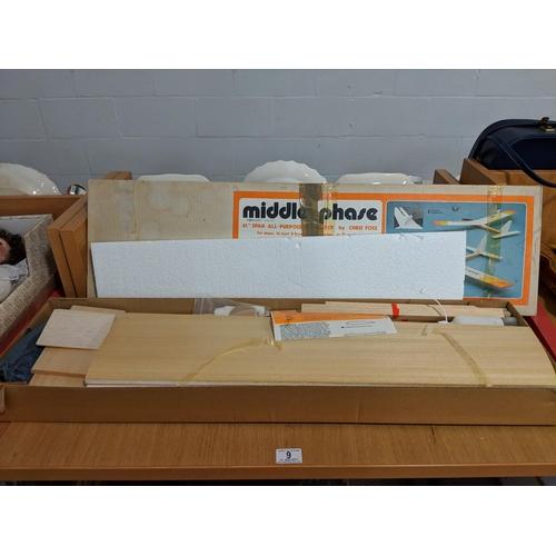 9 - Boxed Middle Phase (unbuilt) glider kit...