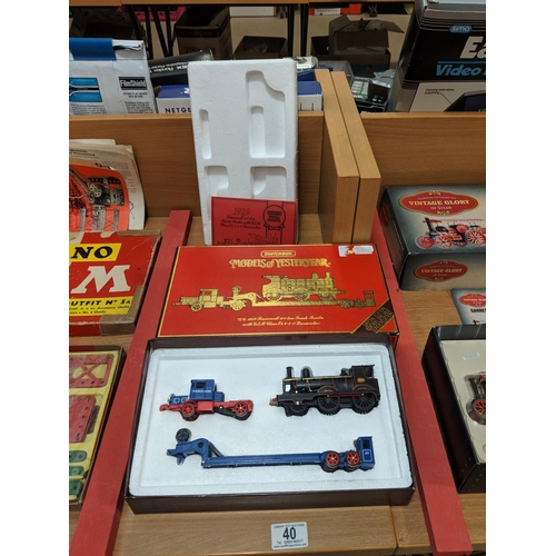 40 - Models of Yesteryear truck trailer-  boxed...