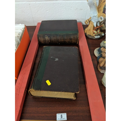 8 - Gardeners assistant books, Volume 1 and 2 , early 1900s...