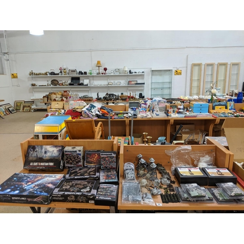 24 - Assortment of new and used models including Deadzone/ Warpath, All Quiet and Martian Front etc....