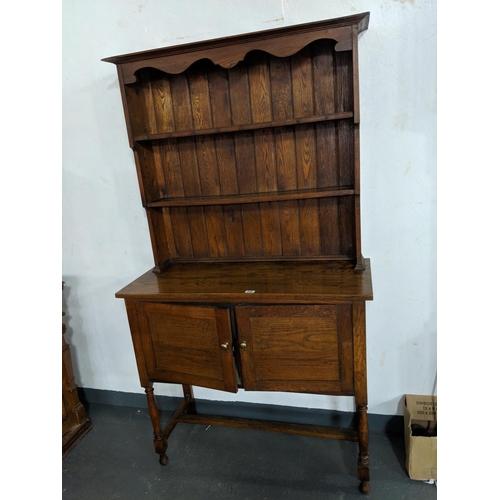 246 - An Oak dresser...