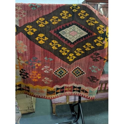 209 - An early Turkish carpet...