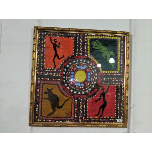 97 - 1974 Billy Bones aboriginal artwork...