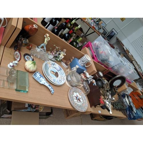 37 - China,vintage items,metalware etc....