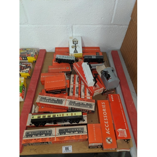 86 - Playcraft OO gauge rolling stock, accessories etc....