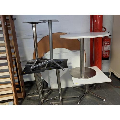 689 - A quantity of tables...