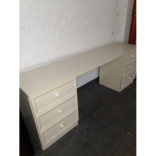 704 - A dressing table/ desk...