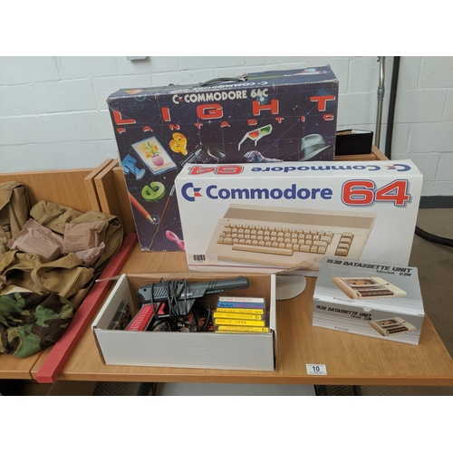 10 - A boxed Commodore 64c computer system...