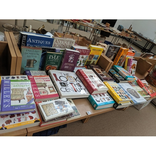 28 - A quantity of antique related books including Millers...