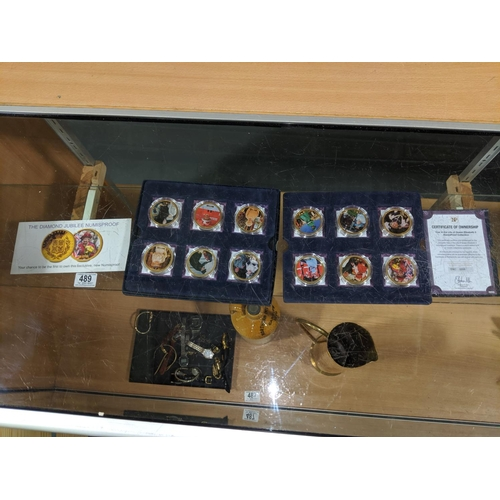 489 - A boxed set of The Life of Queen Elizabeth II numis proof coin set...