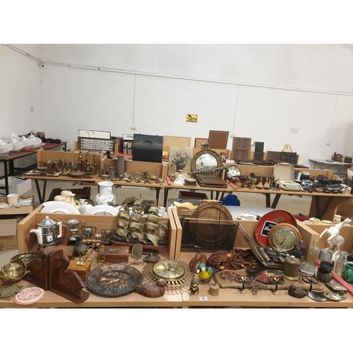 25 - A collection of wooden, metal and vintage items...