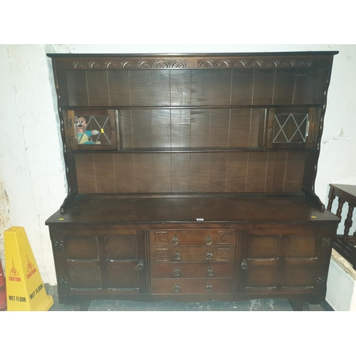 811 - Solid wood dresser...