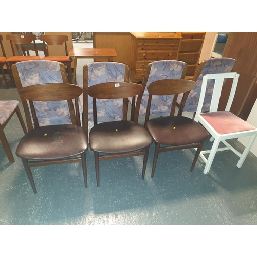 823 - Four dining chairs...