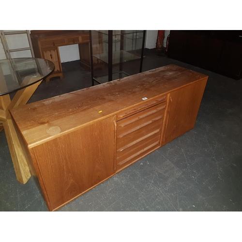 341 - A retro teak sideboard...