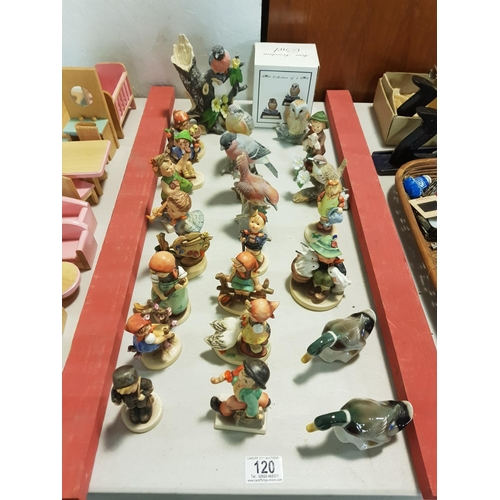 120 - Goebel figurines, birds etc...