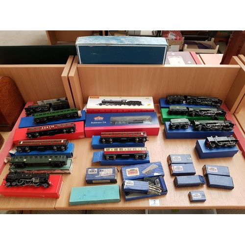 2 - A collection of trains including Bachmann, Hornby etc...