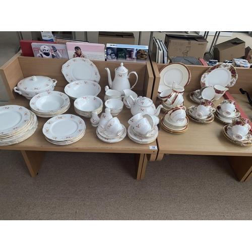 32 - A Duchess' Glen' part dinner service, Royal Stafford ' Majestic' part tea service etc....