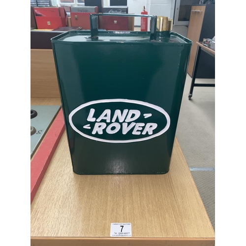 7 - A decorative Land rover can...