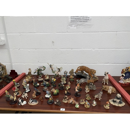 47 - A large quantity of 'The Country Bird Collection' figures etc....