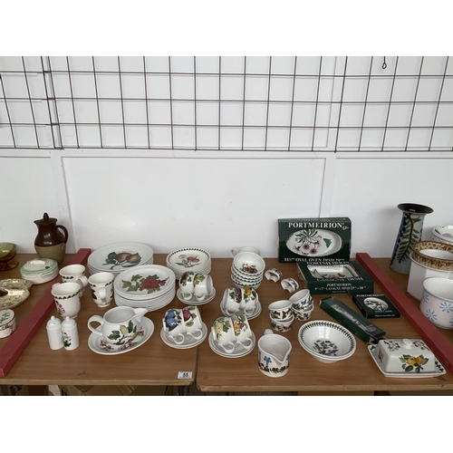 55 - A Port Merion part dinner service- in excess of 60 pieces...