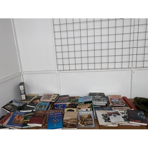 57 - A collection of war, history and local interest books...