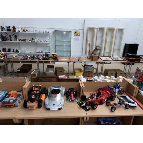 33 - Action Man vehicles including sports car and figure...