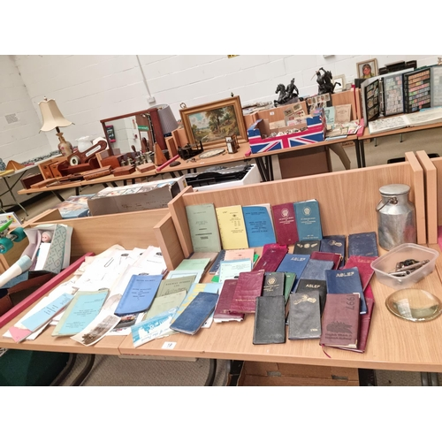 19 - Railway instruction books, diaries, buttons etc.