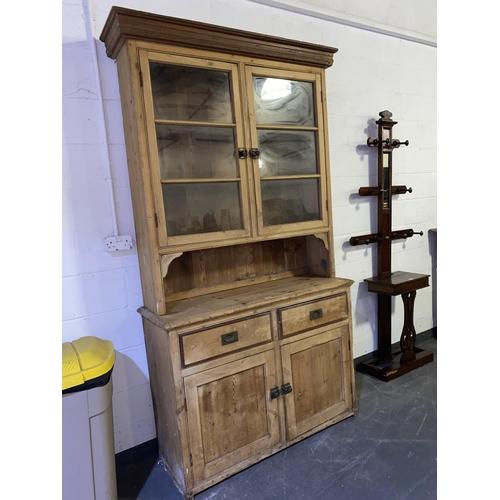 65 - A Victorian stripped pine dresser
