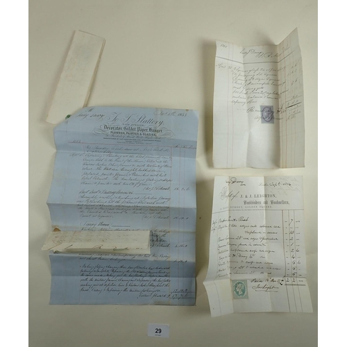 29 - Mid 1800s correspondence with Lady Jane Davy, wife of Sir Humphry Davy - inventor of the