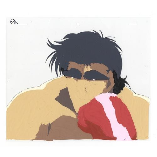 2 - Original Anime Cel with Sketch Series: Hajime no Ippo(Fighting Spirit, Ippo) Character: Ryou Mashiba...