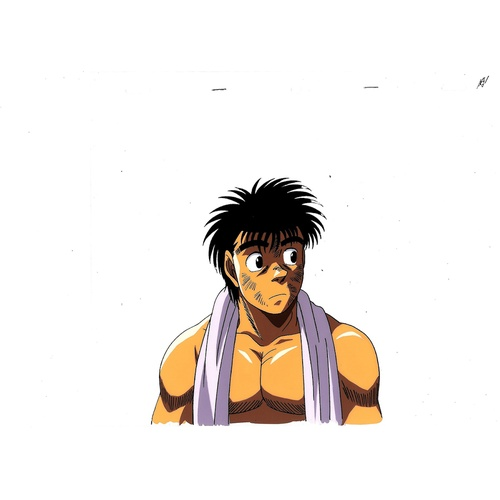 3 - Original Anime Cel Series: Hajime no Ippo(Fighting Spirit, Ippo) Character: Ippo Makunouchi  Product...