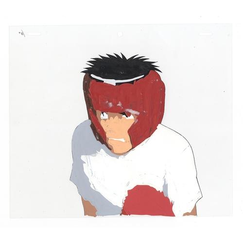 7 - Original Anime Cel with Sketch Series: Hajime no Ippo(Fighting Spirit, Ippo) Character: Ippo Makunou...