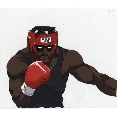 14 - Original Anime Cel with Sketch Series: Hajime no Ippo(Fighting Spirit, Ippo) Character: Jason Osma P...