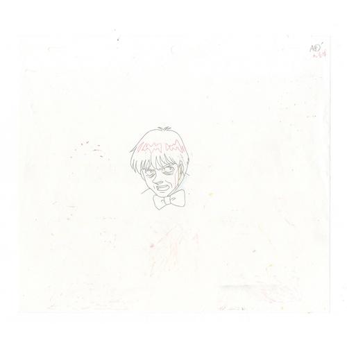 15 - Original Anime Cel with Sketch Series: Hajime no Ippo(Fighting Spirit, Ippo) Character: Ippo Makunou...