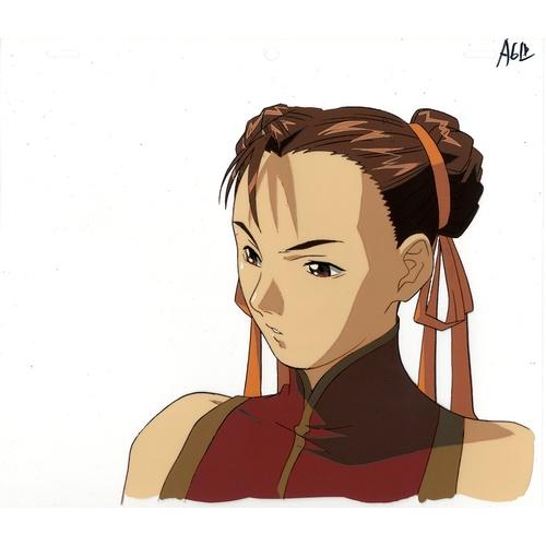 25 - Original Anime Cel Animation series: Street Fighter Alpha: The Animation (Street Fighter Alpha) Char...