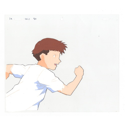 31 - Original Anime Cel with Sketch Animation series: Speed Racer X (Shin Mach GoGoGo, Superauto Mach 5 X...