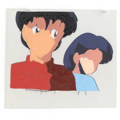 34 - Original Anime Cel Animation series: Ranma 1/2  Characters: Ranma Saotome (Ranma Vincent), Akane Ten...