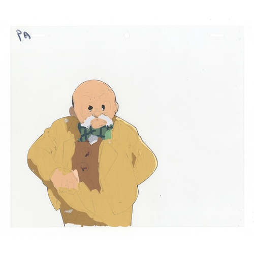 49 - Original Anime Cel with Sketch Animation series: The Last Mystery of the 20th Century  Character: Sh...