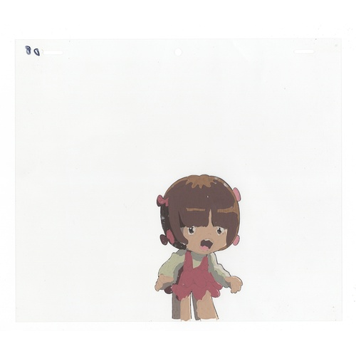 50 - Original Anime Cel with Sketch Animation series: The Last Mystery of the 20th Century  Character: Pi...