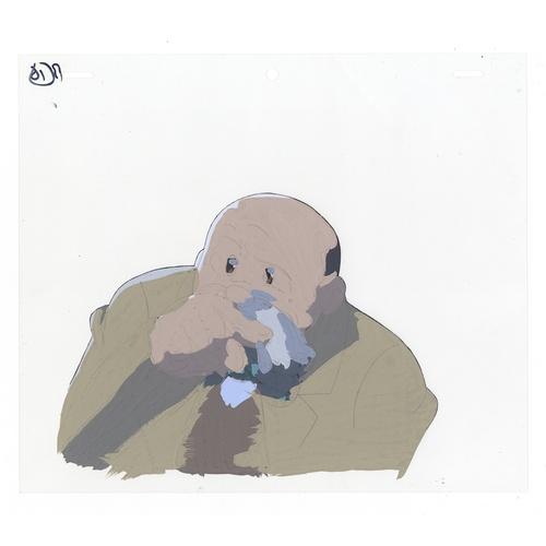 53 - Original Anime Cel Animation series: The Last Mystery of the 20th Century Character: Shunsaku Ban (H...