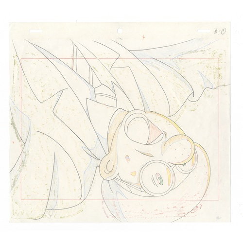 54 - Original Anime Cel with Sketch Animation series: The Last Mystery of the 20th Century Character: Osa...