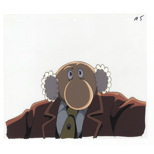 55 - Original Anime Cel with Sketch Animation series: The Last Mystery of the 20th Century  Character: Pr...