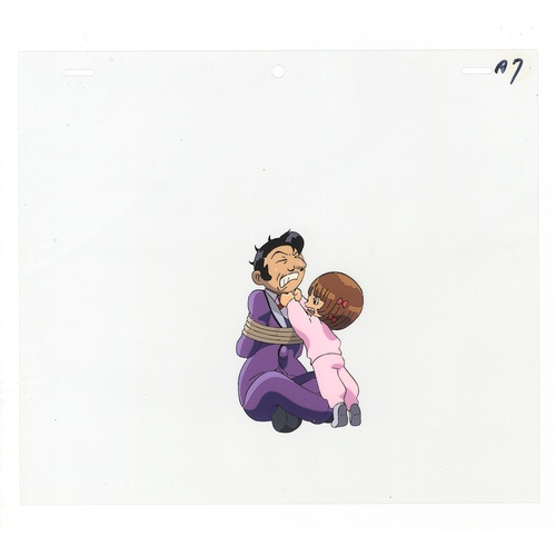 59 - Original Anime Cel with Sketch Animation series: The Last Mystery of the 20th Century  Character: Pi...