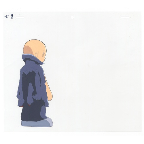 60 - Original Anime Cel with Sketch Animation series: The Last Mystery of the 20th Century Character: Sha...