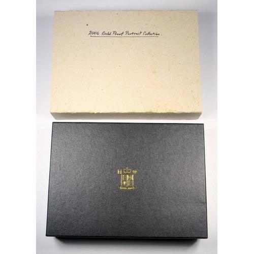 16 - GOLD PROOF ELIZABETH II BRITANNIA PORTRAIT COLLECTION 2006, £25 (5) No. 074, WITH C OF A, CASED, BOX...