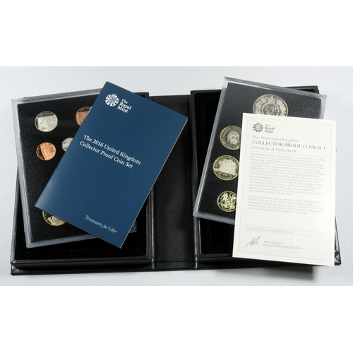 50 - SIX PROOF SETS OF COINS, 2012, 2013 (COLLECTOR EDN.), 2014 (COLLECTOR EDN.), 2015 (2) (COLLECTOR AND...
