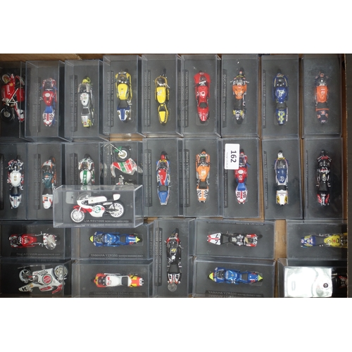 162 - RACE MOTORCYCLE MODELS, BOXED...