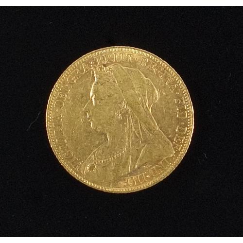 12 - GOLD SOVEREIGN, 1899...